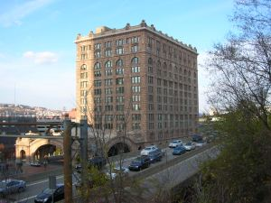 Former Pittsburgh Pennsylvania Railroad Station (now condos).