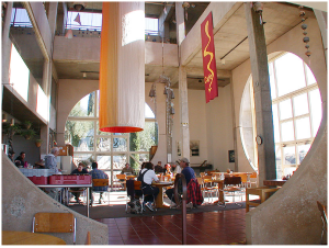 Arcosanti Dining Hall, from www.arcosanti.org