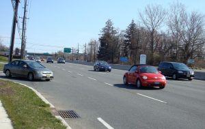 Route 1 near Princeton