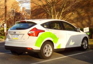 Wheels To Go: CarShare vehicle at Westminster Choir College