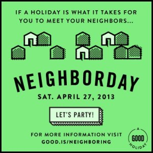Neighborday 2013, from good.is