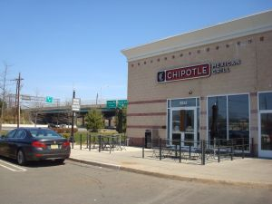 Chipotle: only available to Princeton people who are prepared to drive.