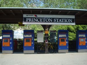 Princeton Station, at University Place.