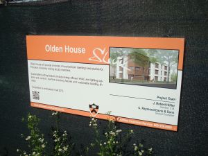 Project description for 'Olden House' faculty accommodation.