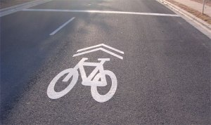 Sharrows appeared recently on Princeton's roads, but some people still don't know what they mean.