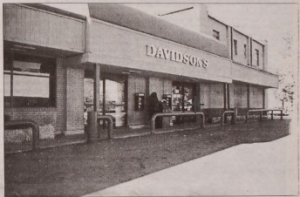 Davidson's Supermarket, Nassau Street. From 'Town Topics', 1997, via Princeton University Library. (Click to expand.)
