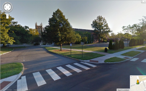 Princeton High School, seen from Google Street View. (Click to expand)