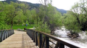 Now THIS is a bike/walkingtrail: Boulder's 'Boulder Creek Trail', voted