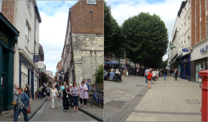 Shopping areas in York