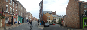Two views of York