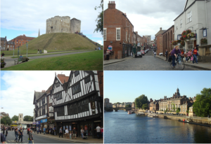 History is everywhere in York, England. (Click to expand.)