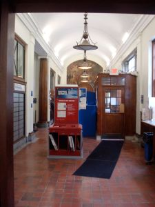 Inside the Princeton post office. (Click to expand)