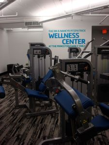 The new Wellness Center features brand new fitness and weights equpiment of all kinds. (Click to expand.)