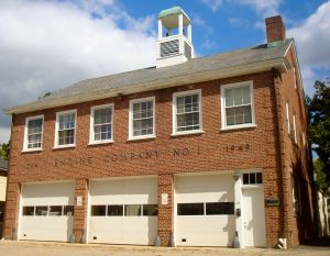 Engine Company No. 1 building on Chestnut Street. (Click to expand.)