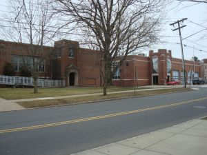 Princeton's biggest firehouse is right next door to 369 Witherspoon, and could expand into the site. (click to expand.)