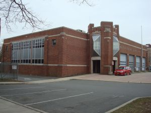 Princeton fire department wants more space at their site on Witherspoon Street. (click to expand.)