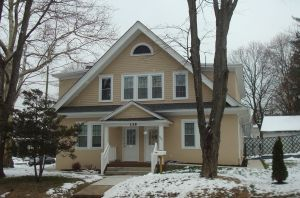 This house at 135 Bayard Lane was renovated and rented as affordable housing by Princeton Community Housing in 2013. (click to expand.)