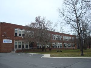 The renovated wing of the old Valley Road school site, at Witherspoon St and Valley Road in Princeton. (click to expand.)