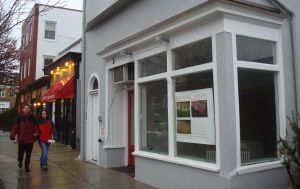 """Site of soon-to-come """"Arlee's Raw Blends"""" on Nassau Street in Princeton. (click to expand.)"""