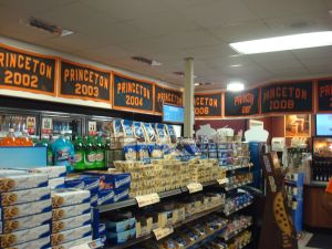 Inside the old Princeton WaWa, with a cornucopia of goods and Princeton U. memorabilia. (Click to expand.)
