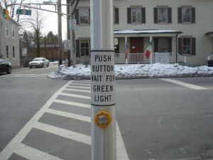 Push button for green light...wait, what green light? (click to expand)