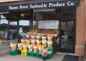 Produce at Nassau Street Seafood & Produce in Princeton. (click to expand.)