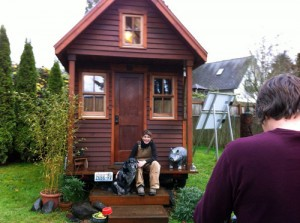 Dream Big, Live Small in a Tiny House...an answer to sustainability and affordability challenges? (Click to expand - image via PEFF website).