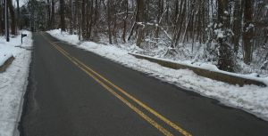 Drakes Corner Road in Princeton: New Jersey roads are the most costly in the nation to maintain. (click to expand.)