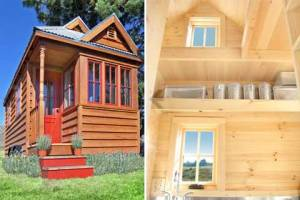 A tiny house, as advertised at Neighborland. (Click to expand.)