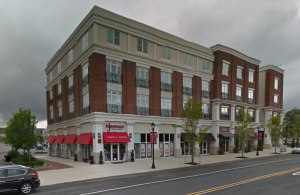 Part of Robbinsville's 'Town Center' development, as seen via Google Streetview. (click to expand.)