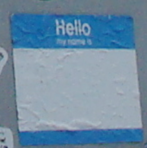 'Hello my name is' (click to expand)