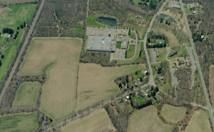 The former Kooltronic site in Hopewell Township, which is a likely site for meeting affordable housing obligations. (click to expand.)