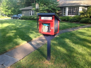 A 'Little Free Library' on Prospect Avenue in Princeton. (click to expand.)