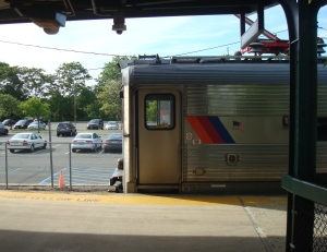 The Dinky train at Princeton Junction station. (click to expand.)