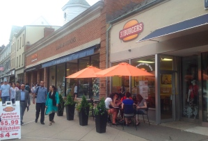 '30 Burgers', which opened last week at Nassau Street in downtown Princeton. (click to expand.)