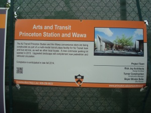 Impression of new Transit Plaza and Arts campus at Princeton University. (click to expand.)