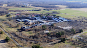 The former American Cyanamid site, between Route 1 and Clarksville Road in West Windsor, NJ. (click to expand.)