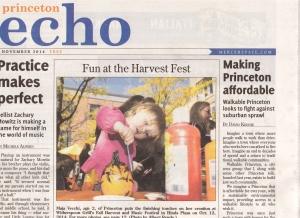 November 2014 Princeton Sun,