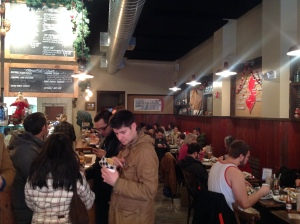 Diners at Jammin' Crepes in Princeton (click to expand.)