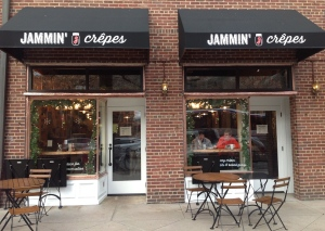 Jammin' Crepes on Nassau Street in Princeton. (click to expand.)