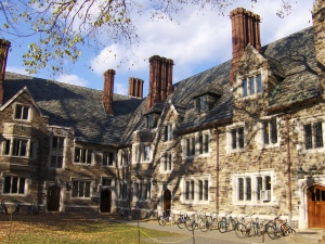 Holder Hall, Princeton University, one of many sites of campus housing for undergraduates (Image credit: Peter Dutton via Wikimedia Commons)