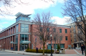 Princeton Public Library, venue for the screening of 'The Walking Revolution' at the 2015 Princeton Environmental Film Festival. (click to expand.)