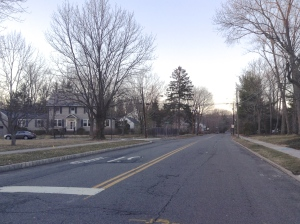 Mt Lucas Road in north Princeton is set for improvements. (click to expand)