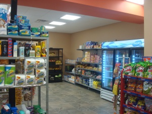 Inside the new La Lupita grocery store. (click to expand).