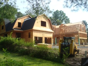 A current knock-down / rebuild project in Princeton. (click to expand).