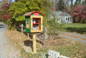"""Little Free Library of Snowden Farms"" (click to expand)."
