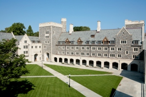 Whitman College - a relatively recent addition to the Princeton University campus - completed 2007. Photo: Princeton University, Office of Communications