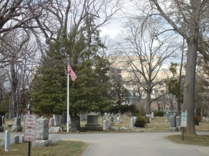 Part of the historic Princeton Cemetery. (click to expand)