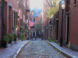 Boston's North End: much-appreciated by Jane Jacobs.