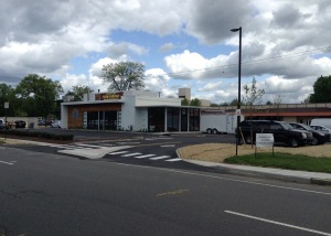 New Nomad Pizza, with missing sidewalks (click to expand)